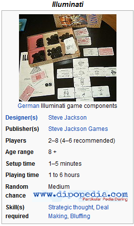 Ilustrasi Illuminati Game