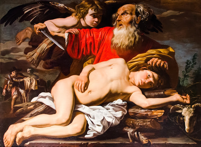 Matthias Stomer - il sacrificio di Isacco - arte