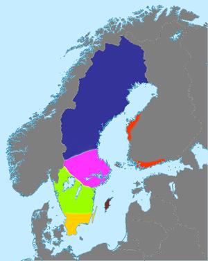 dialekt i sverige