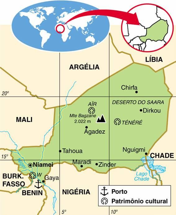 Níger | Aspectos Geográficos e Socioeconômicos de Níger
