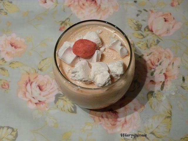 Tiramisu à la fraise bonbon