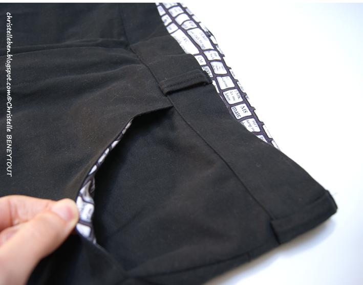 Christelle beneytout le blog cap de coudre un pantalon for Pantalon interieur homme