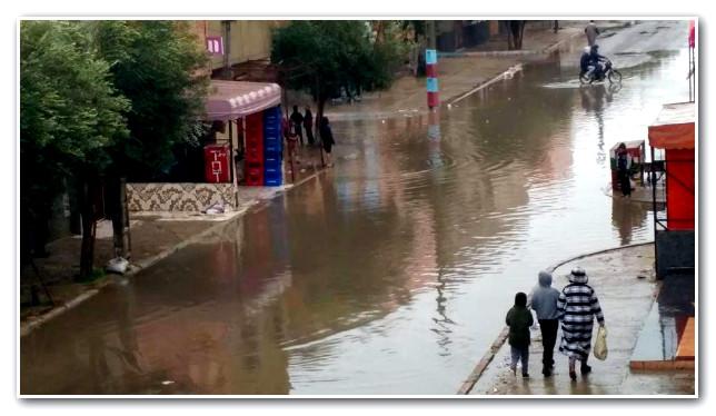 آسفي تغرق بقطرات الأمطار و العمدة يخصص 165 مليون للولائم و المهرجانات !