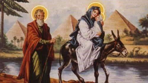 رحلة العائلة المقدسة إلي وادي النطرون