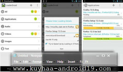 LOADER DROID PRO DOWNLOAD MANAGER APK