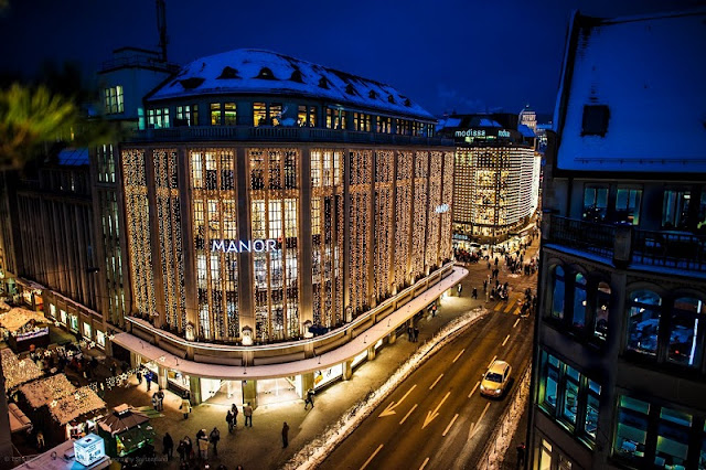 Lojas de departamento em Zurique