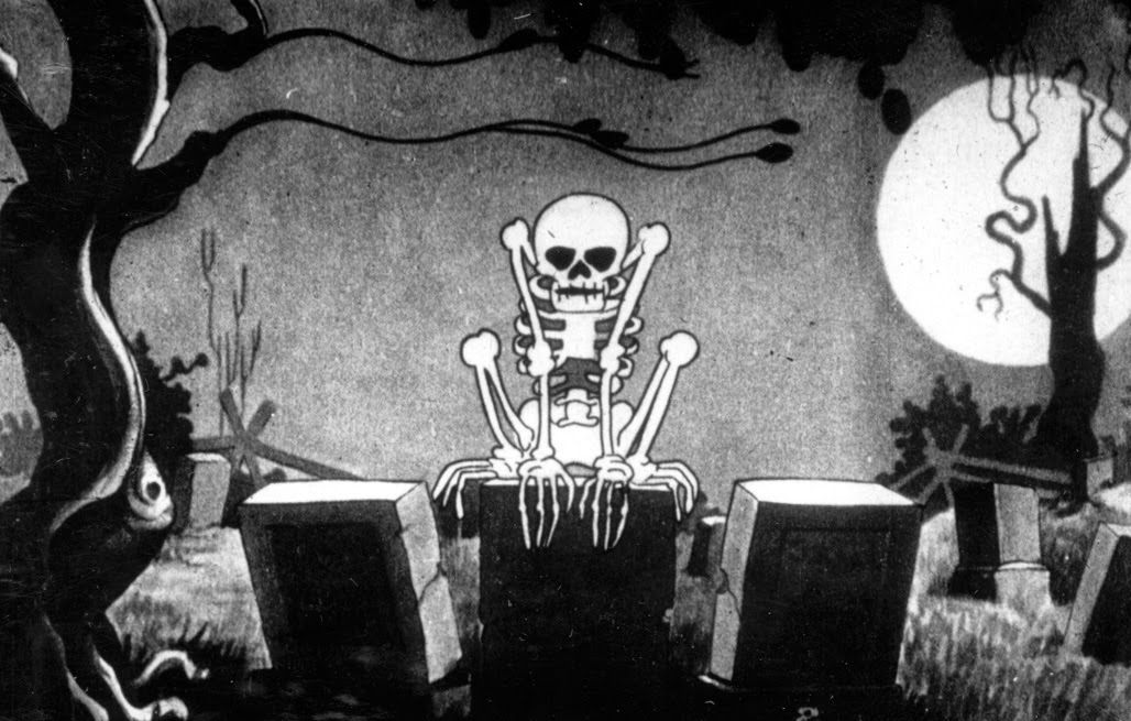 Betty Boop fantasmas