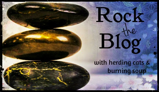 herding cats & burning soup: Rock the Blog-- How to add a