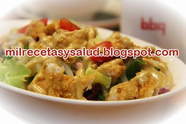 Receta apta diabético pollo y palmitos