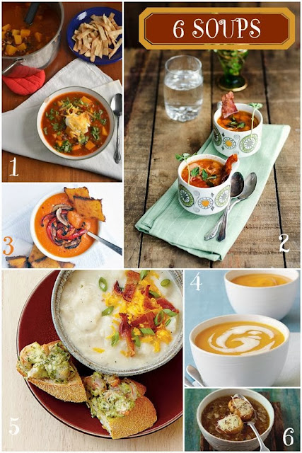 http://spicedblog.com/6-comforting-soup-recipes.html