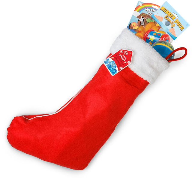 Boy Stocking 3 Plus, £20 from Hawkin's Bazaar