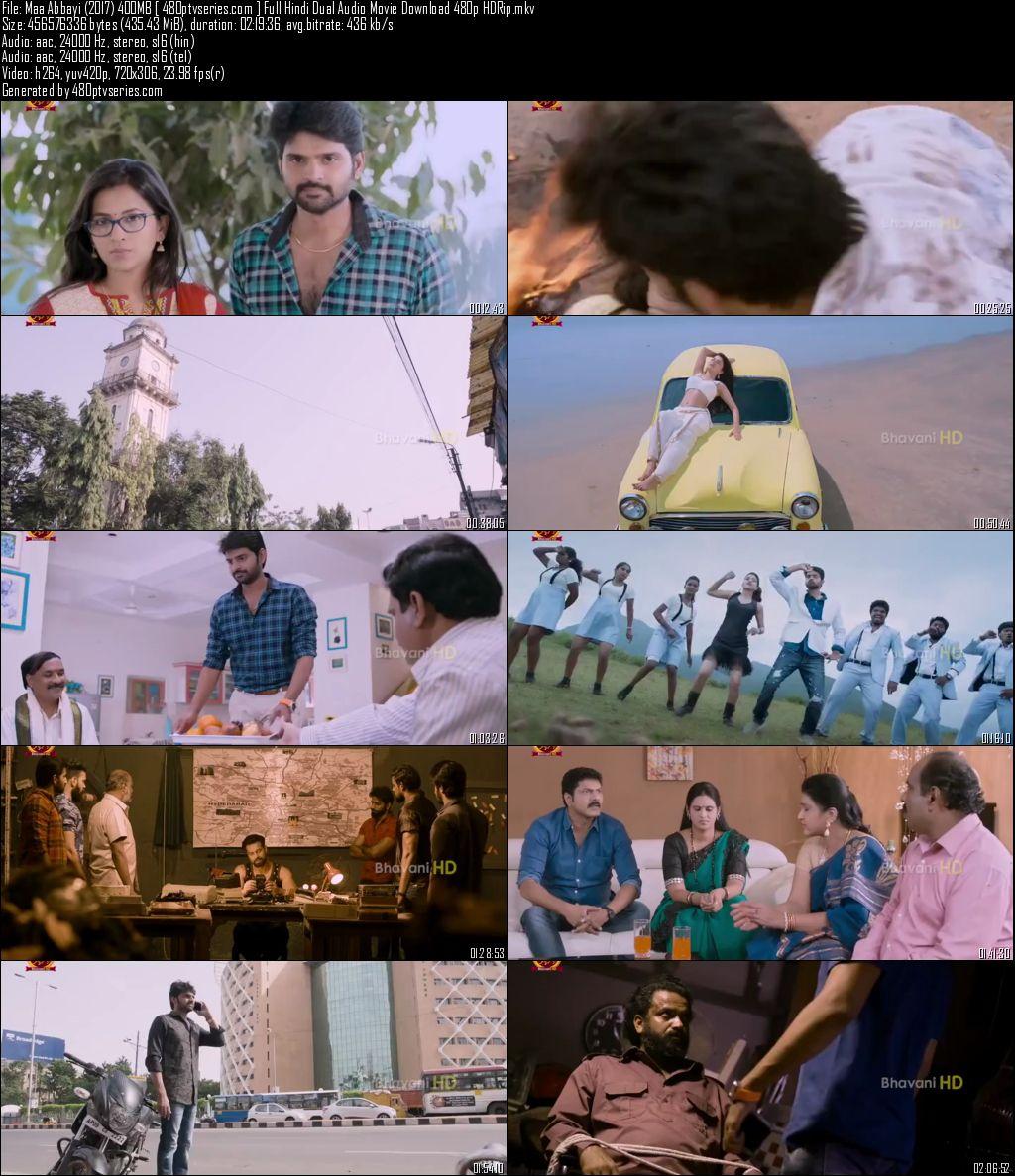 Maa Abbayi (2017) 400Mb Full Hindi Dual Audio Movie