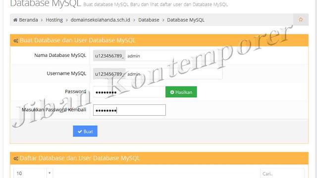 Install Web Sekolah CMS Balitbang Diknas Di Server Hosting Online