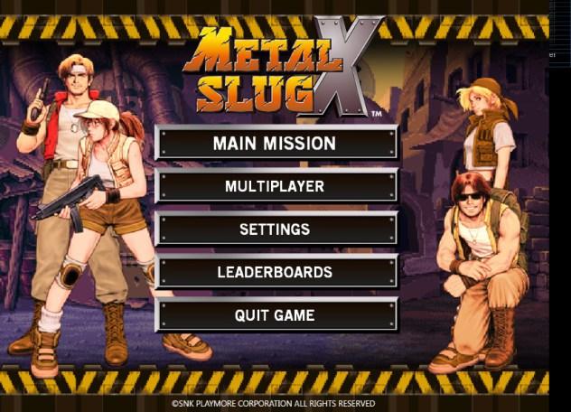 Metal Slug X For PC [Game Jadul]