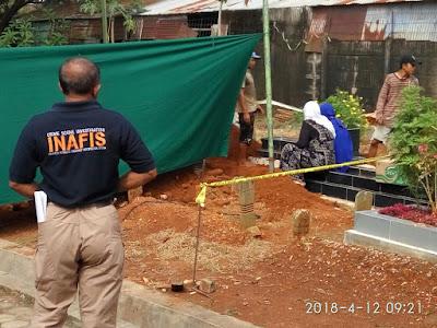 Polisi Lakukan Otopsi Pada Jenazah Yogi Andhika, Mantan Sopir Pribadi Salah Satu Pejabat di Lampung
