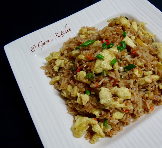 egg fried rice recipe | indo chinese style egg fried rice recipe | egg rice recipe | how to make egg fried rice