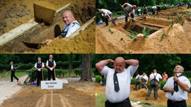 Lomba Menggali Kuburan Pemenang