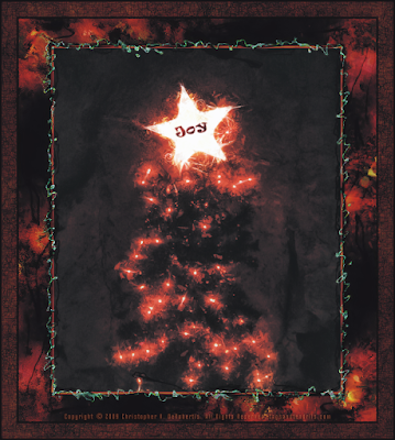Red Fir (Christmas Tree 2009) (c) Copyright 2009 Christopher V. DeRobertis. All rights reserved. insilentpassage.com