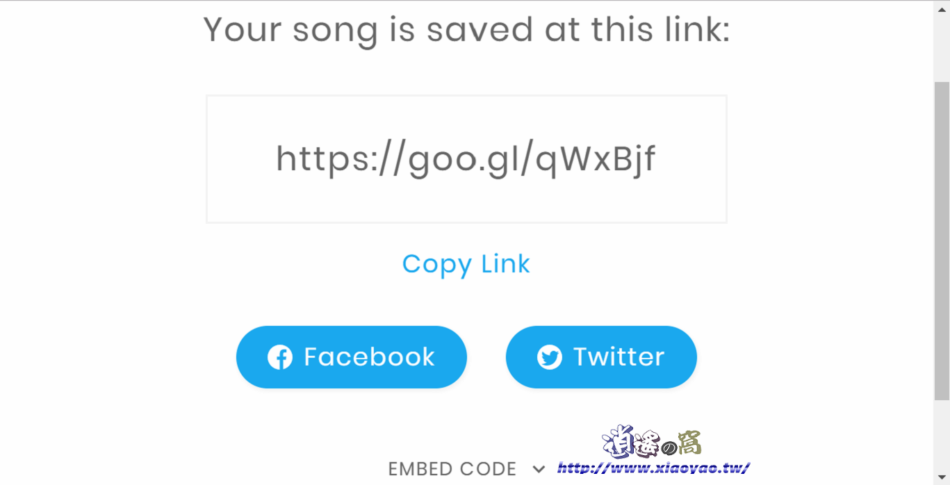 Google Song Maker 線上音樂創作器