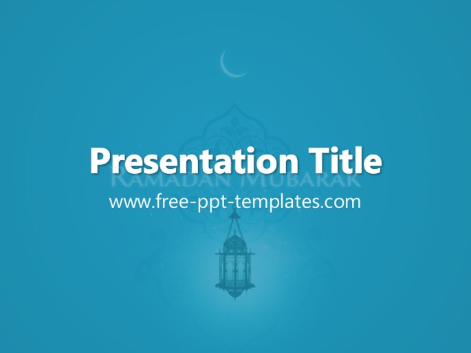 ramadan ppt template, Powerpoint templates