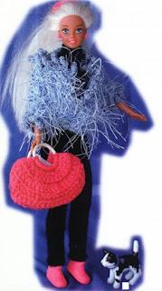 veste au tricot pour barbie