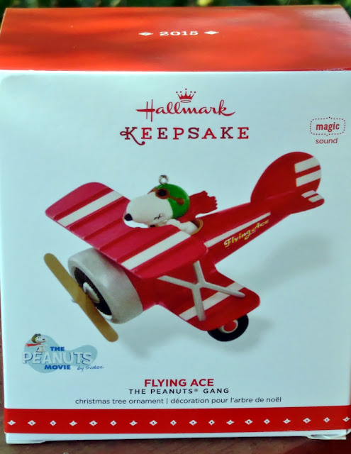 2015 Hallmark Keepsake Ornament the Flying Ace #giveaway MWP