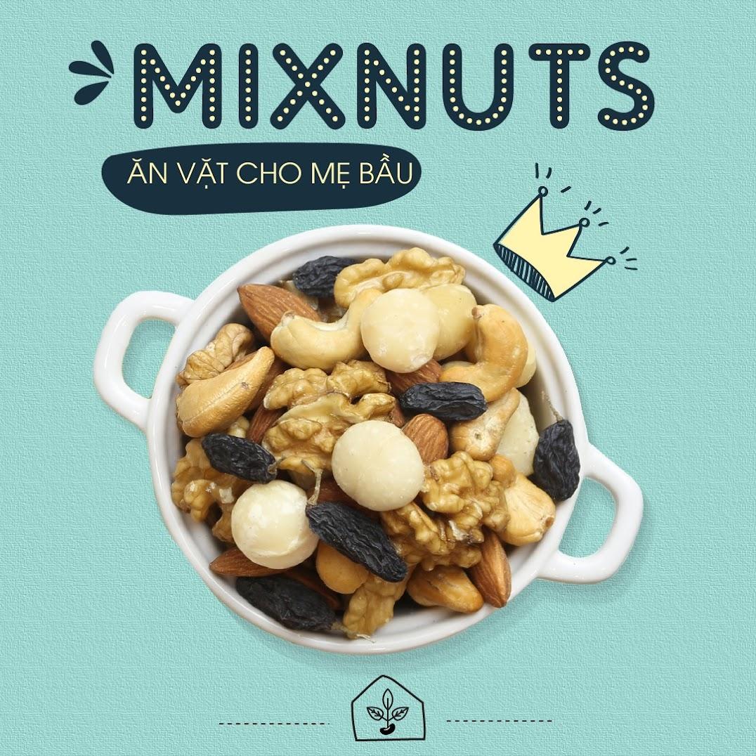 [A36] Bữa phụ với hạt dinh dưỡng có tốt cho Mẹ Bầu 6 tháng?