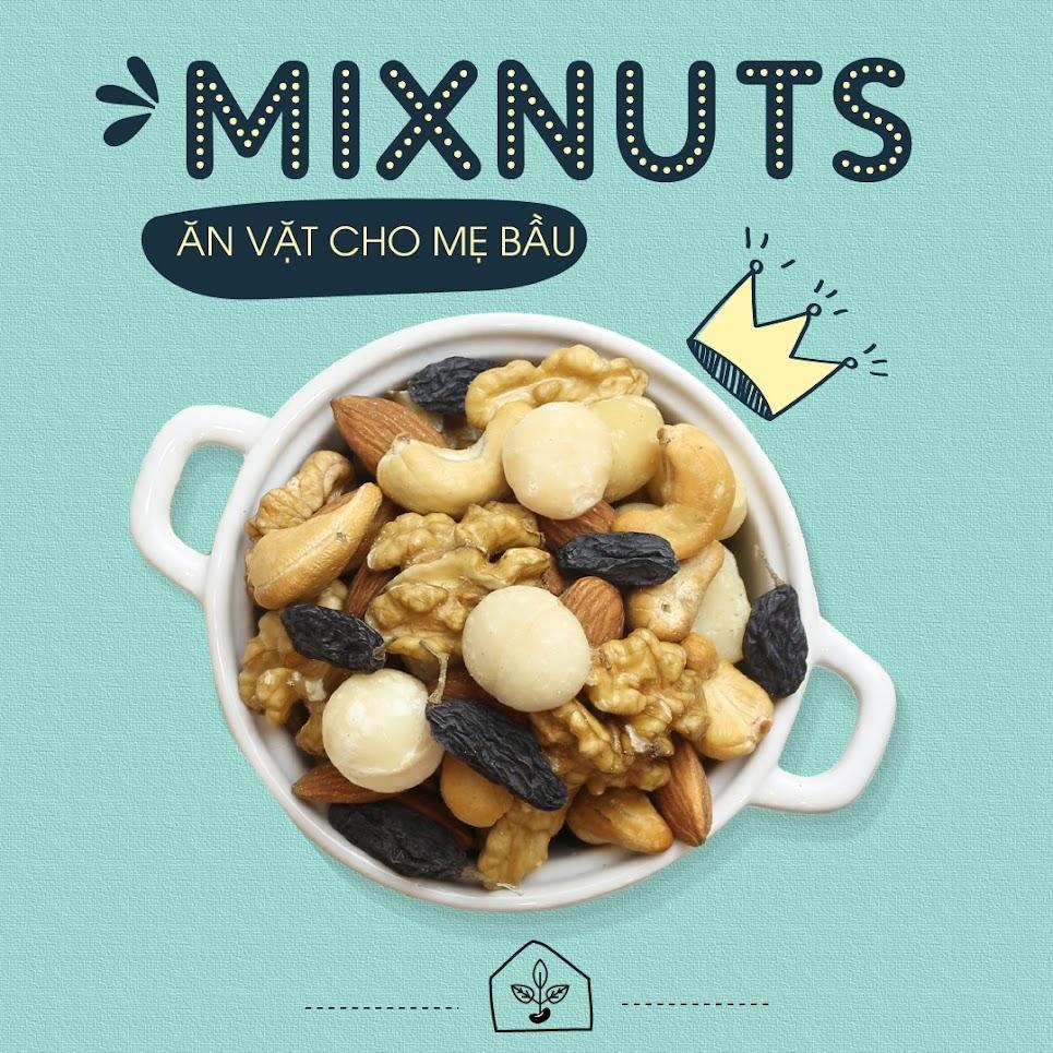 [A36] Top 5 loại hạt giúp Mẹ Bầu 3 tháng bổ sung dinh dưỡng