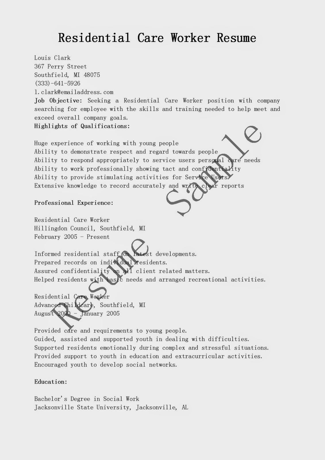 Settlement worker cover letter - 9+ Sample Social Work Cover ...