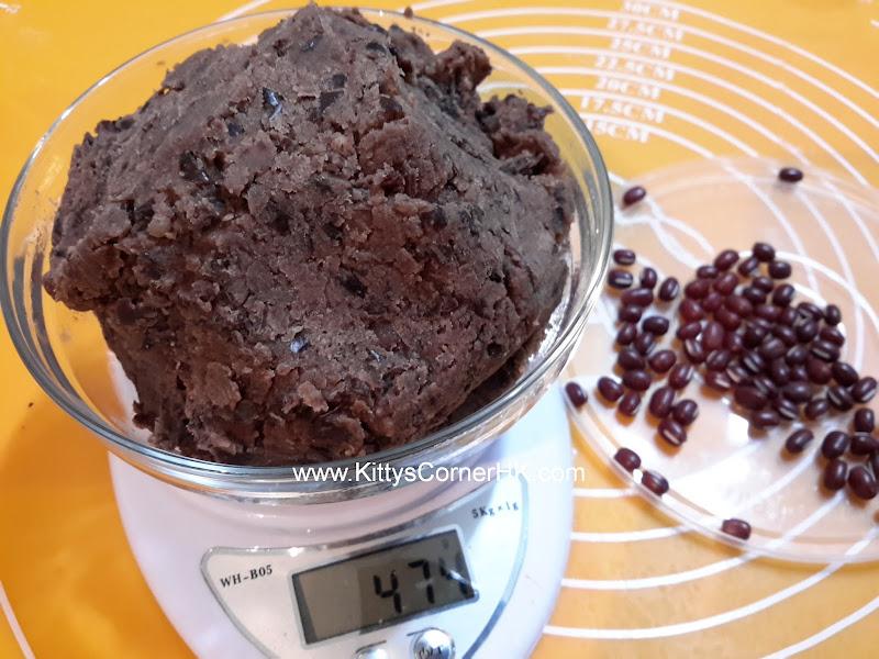 Sweet Red Bean Paste DIY recipe 紅豆餡 自家食譜