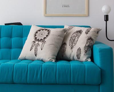 sofá-turquesa-decoração