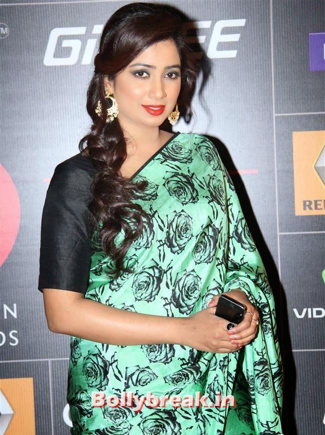 Shreya Ghosal, Global Indian Music Awards 2014 Pics