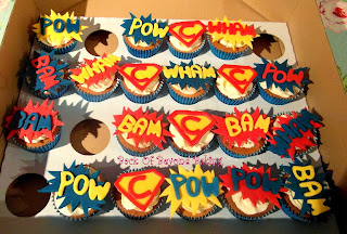 boys birthday cupcakes