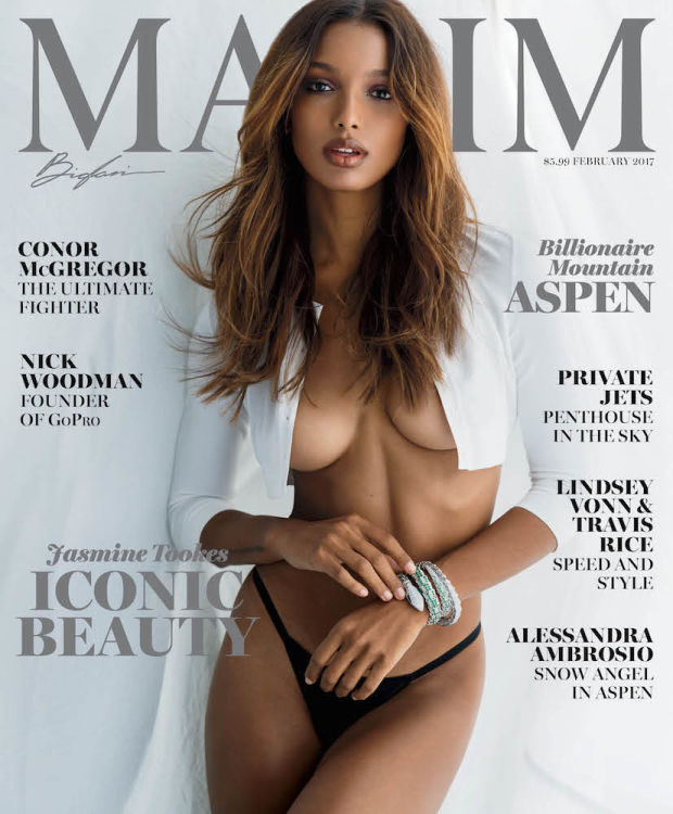 Jasmine Tookes Is Maxim's February Cover Girl