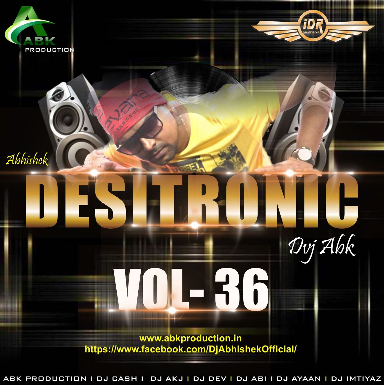 Manma Emotion Jaage Re Mp3 Full Song Download: Desitronic Vol.36 [Abk Production] DJ Abhishek