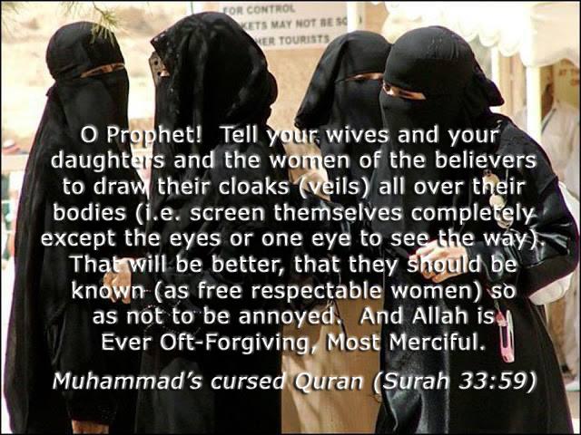 Islam, Mohammed & the Quran: Hijabs, Niqabs and Burkas