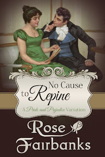 Book cover: No Cause to Repine by Rose Fairbanks