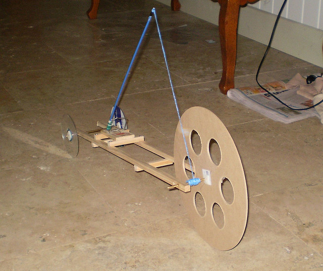 Physics In Motion Mouse Trap Race Car