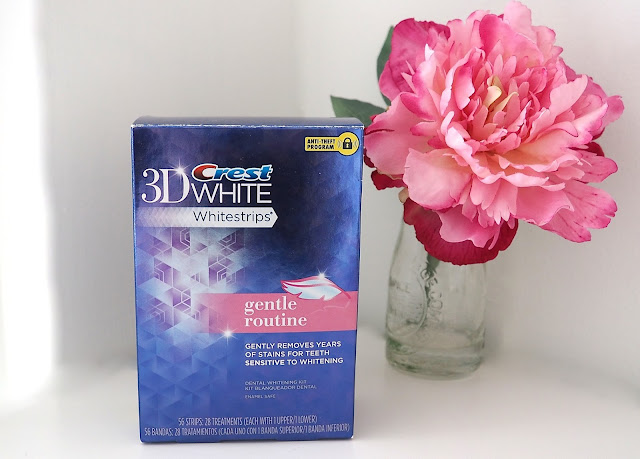 A picture of Crest 3D Whitestrips Gentle Routine Teeth Whitening Kit