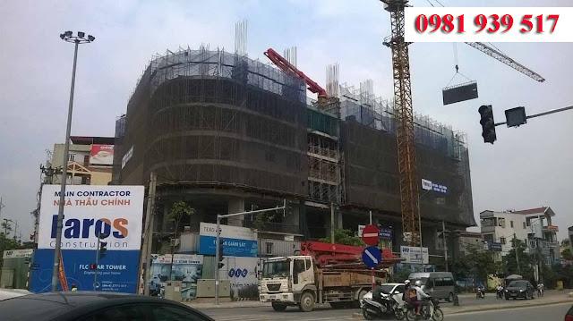 Hình ảnh công trường dự án cập nhật tháng 6/2016