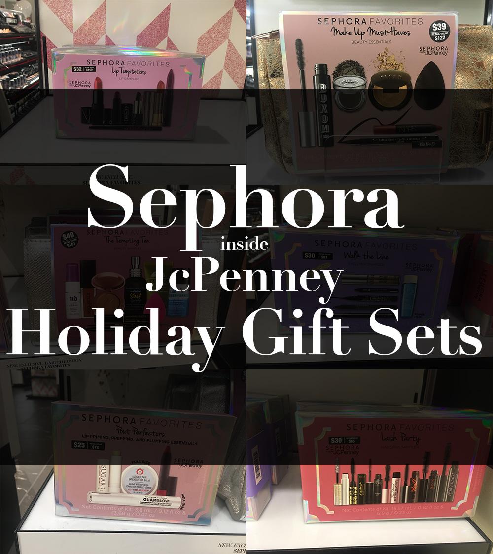 sephora favorites, sephora holiday sets, sephora gift sets, sephora jcpenney gift sets, sephora jcpenney exlcusives