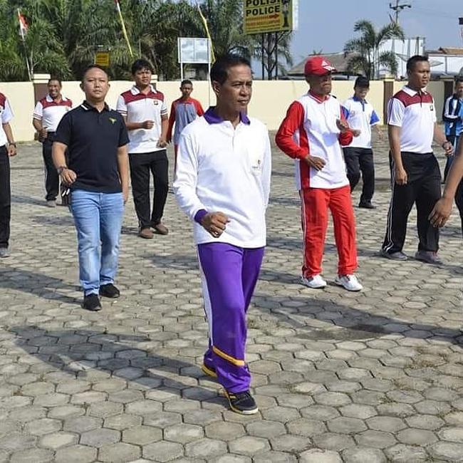 Jaga Kekompakan, Khamami Galakan Olahraga Bersama Hingga Perangkat Desa