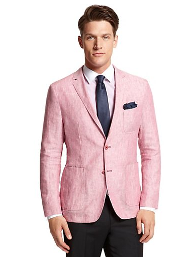 e61bee06759 Love this blazer for a summer wedding or special occasion. This sport coat  is made by Hugo Boss and is definitely a statement piece for that fashion  forward ...