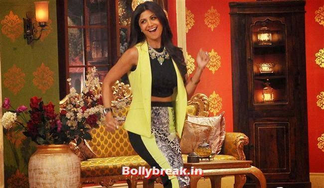 Shilpa Shetty, Shilpa Shetty Promotes Dishkiyaaoon Promotion on Comedy Night with Kapil