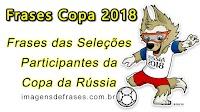 Frases Copa do Mundo 2018