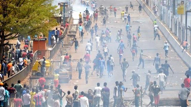 Six killed in Guinea amid violent rally against teachers' strike