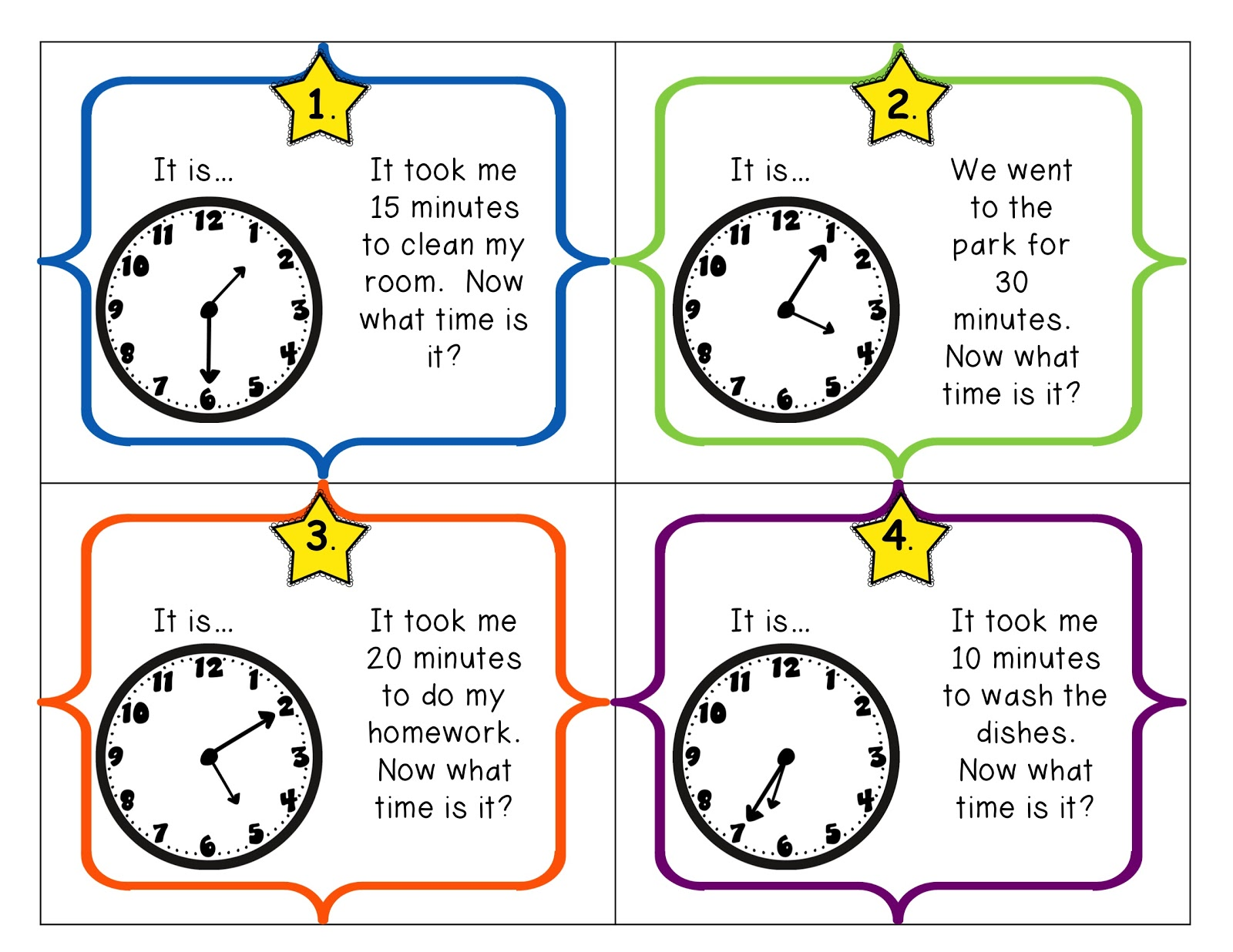 Elapsed Time Worksheets With Answers   Printable Worksheets and Activities  for Teachers [ 1236 x 1600 Pixel ]