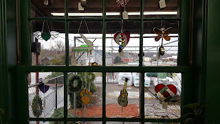 Wonderful sun catchers available at Agway. Hand crafted by a Franklin resident!