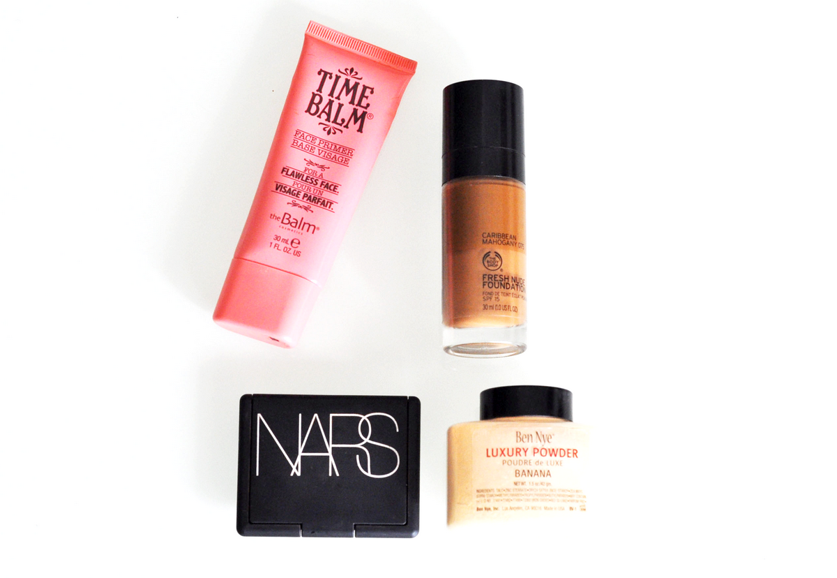 The Balm, The Body Shop, Nars, Ben Nye, Black Beauty Skin blog