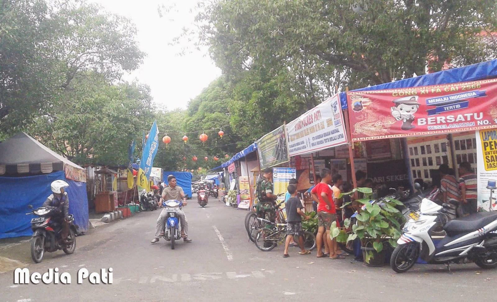 Pasar Imlek Daerah Pati